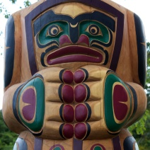 Totem Pole - Vancouver Island