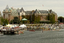 Outrigger Races in Victoria Harbor