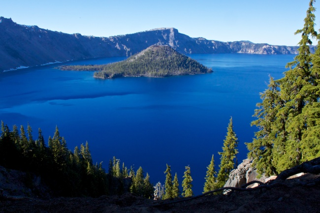 Blue, Blue of Crater Lake