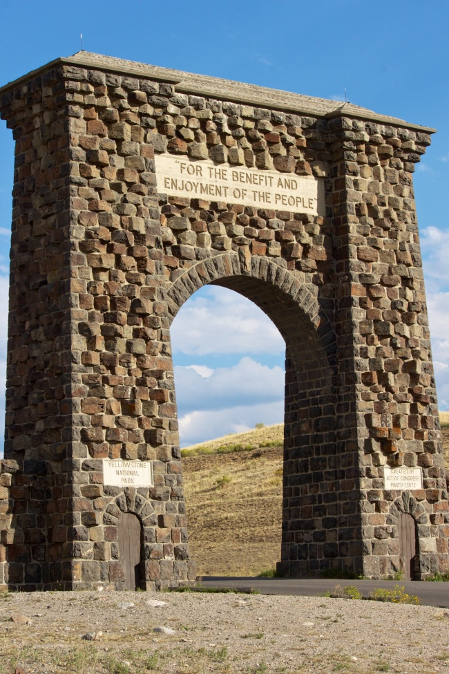 Roosevelt Arch - North Entrance